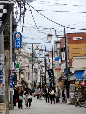 Japanese market street