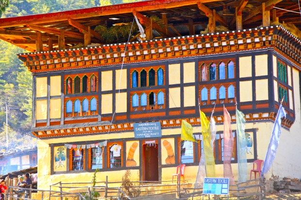 A shop in Bhutan