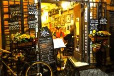 An eatery in Trastevere