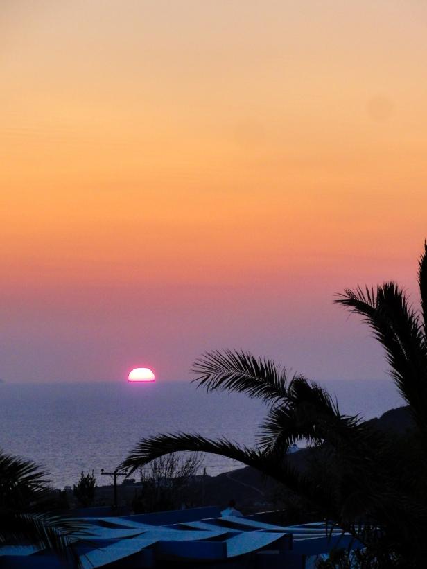 Oia sunrise