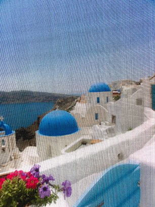 Island blue view