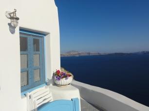 Island blue verandah