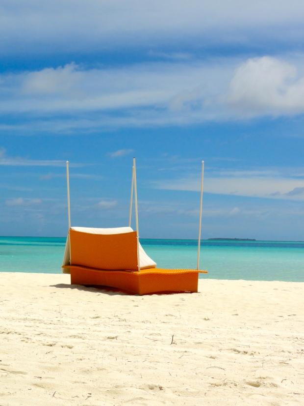 Maldives: Peaceful beach