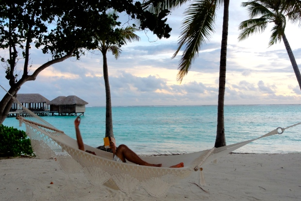 Maldives: Refresh on the hammock