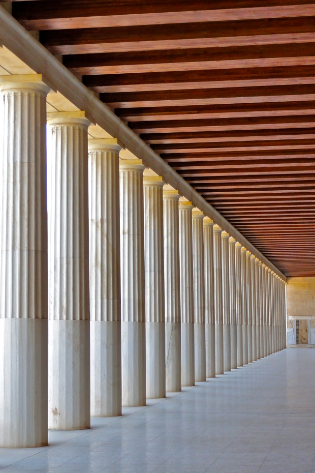 Stoa of Attalos in the ancient Agora