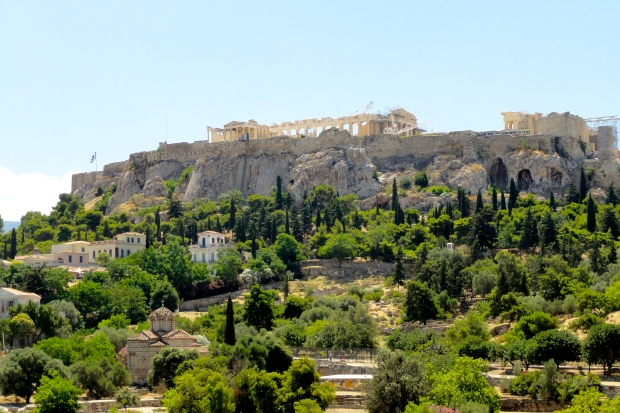 The Acropolis seen from the ancient Agora