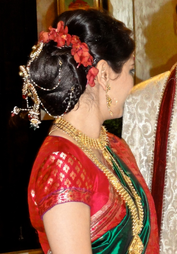 Red - Indian bride
