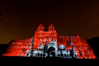 Sound and Light show at Old Fort Delhi