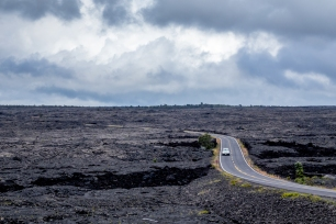 Chain of Craters Road at Hawaii Volcanoes National Park