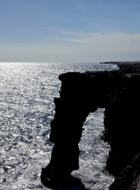 Holei Sea Arch Hawaii Volcanoes National Park