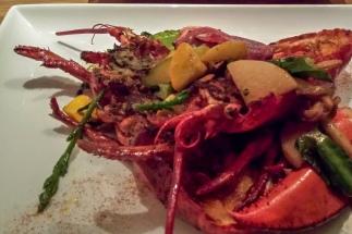 Garam masala lobster Morimoto