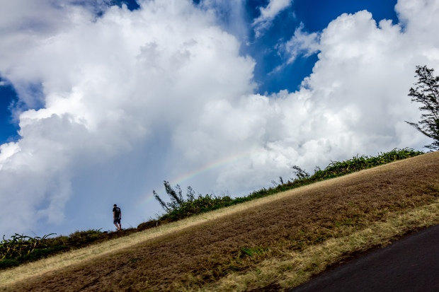 Rainbow along the Road to Hana