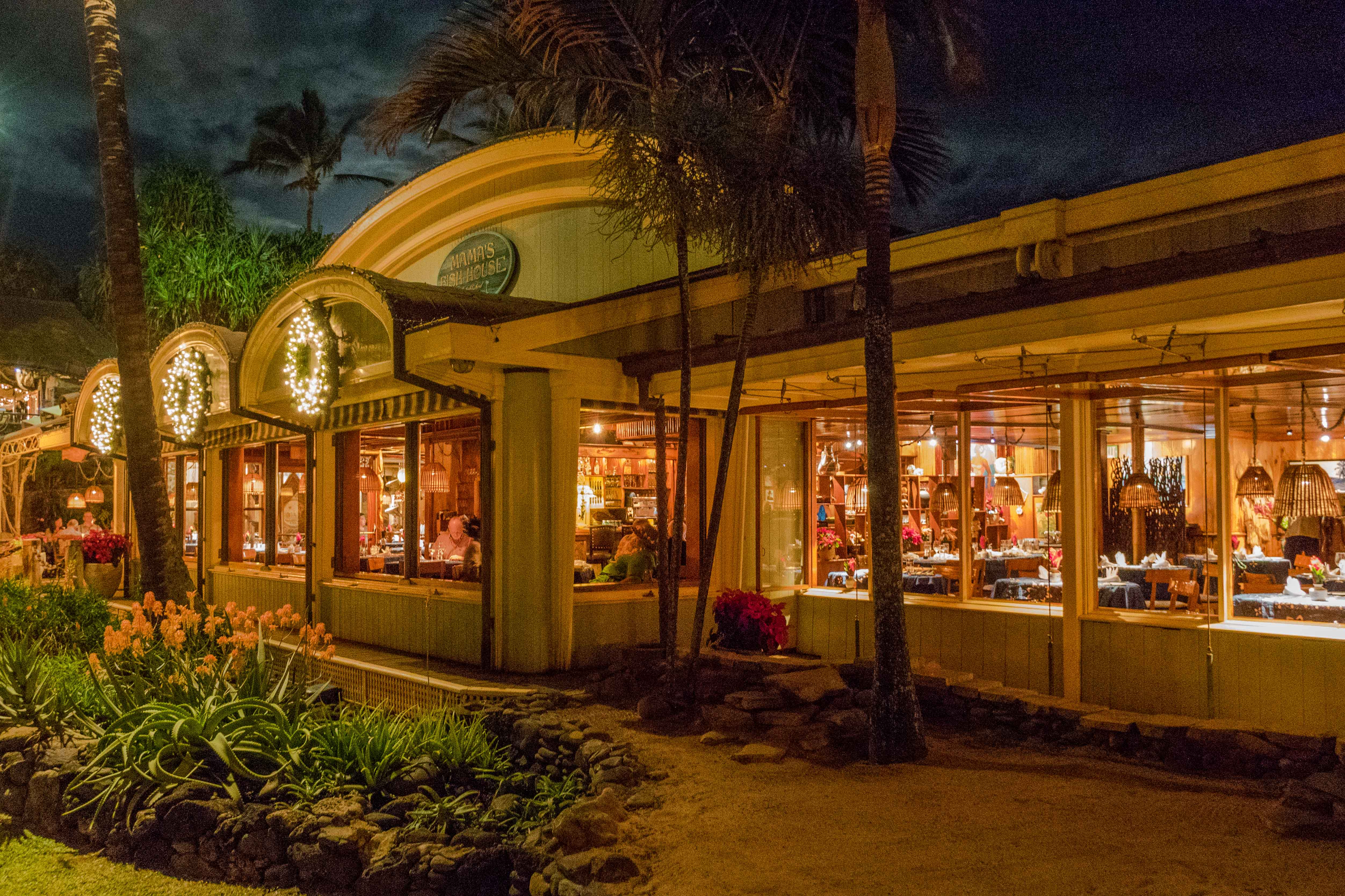 The 3 m s our most memorable meals in hawaii kan walk for Mamas fish house maui menu