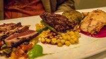 Mixed Plate (Wok-seared ahi, filet mignon, ponzu mahimahi)
