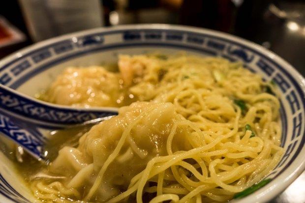 Wonton Noodle Soup Hong Kong Foodie Tour