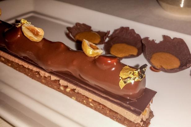 Crunchy praline chocolate