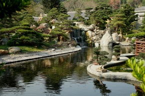Nan Lian Garden - Waterfall