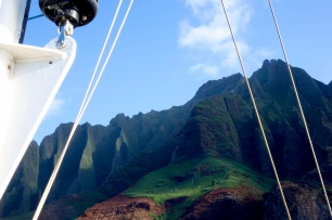 Na Pali Coast sunset cruise