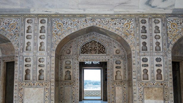 Agra Fort - Precious stone inlay work