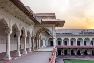 Agra Fort - Hallways