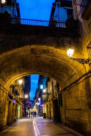 Streets of Parte Vieja