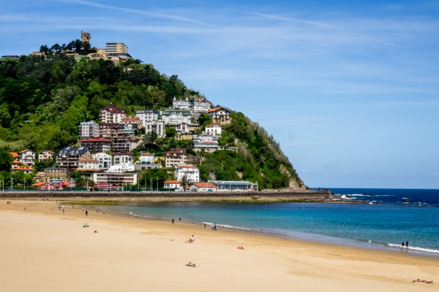 Concha beach San Sebastian