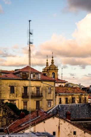 Rooftops of Parte Vieja San Sebastian