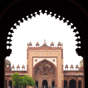 Jama Masjid viewed from King's Gate