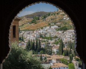 City viewed from Alhambra