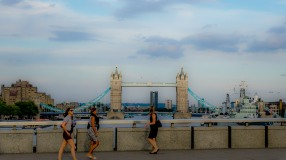 Tower Bridge, viewed from London Bridge