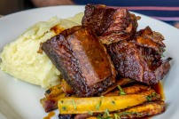 Guinness braised short ribs (Winding Stair)