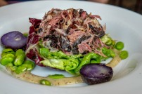 Ham Hock and Black Pudding salad (Winding Stair)