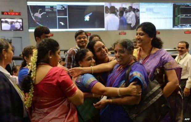ISRO MOM celebration