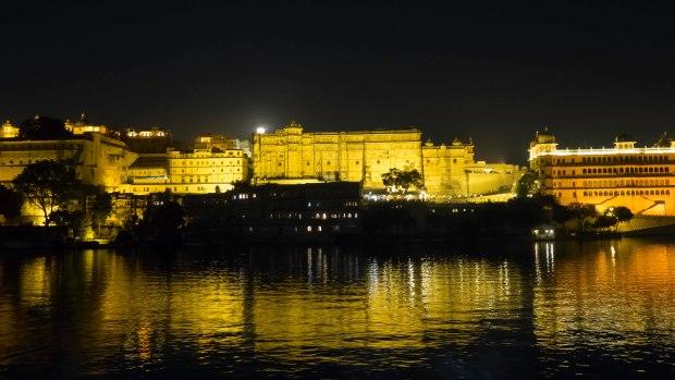 Udaipur Moonrise 1