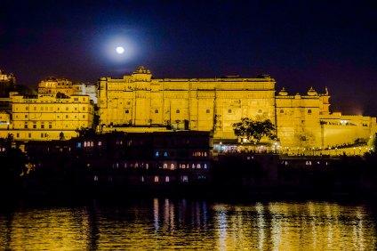 Udaipur Moonrise 3