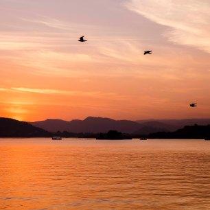 Lake Pichola Sunset Udaipur