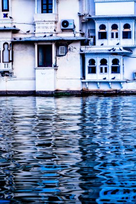 Reflections on Lake Pichola