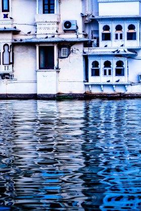 Reflections on Lake Pichola