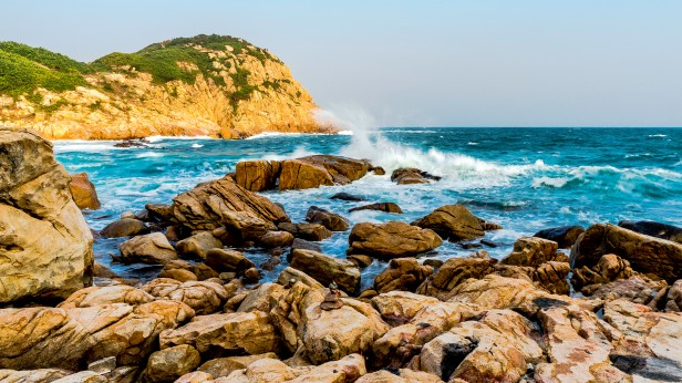 Shek O headland Hong Kong