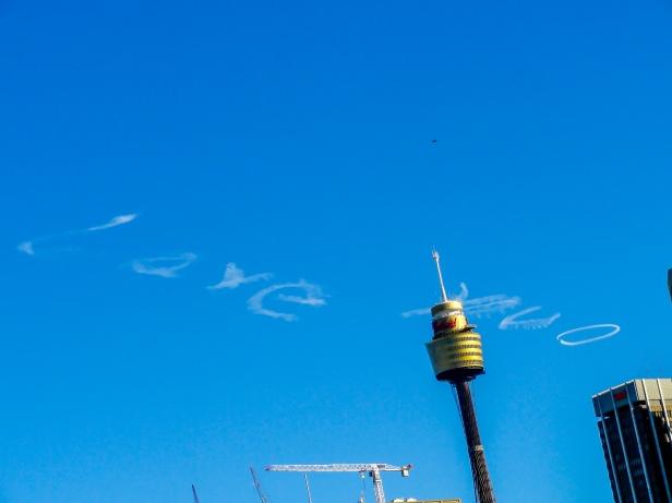 Skywriting, Sydney