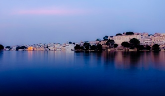 City Palace and the old city of Udaipur