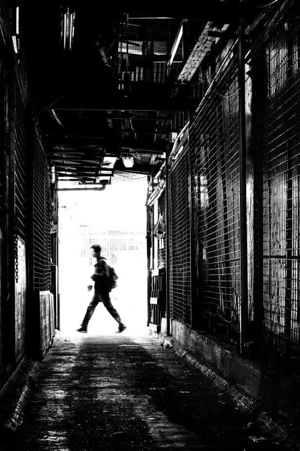 Street life goes on