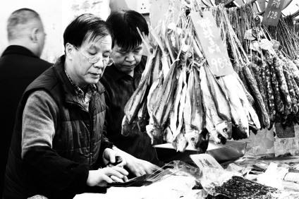 Popular vendor of dried foods