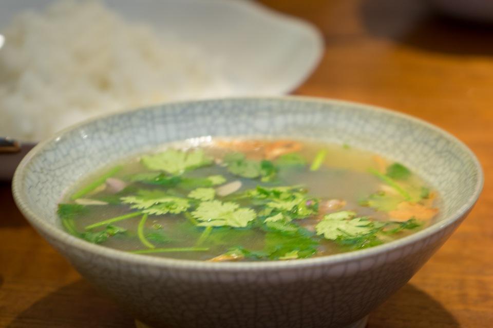 Hot and sour soup Nahm Bangkok