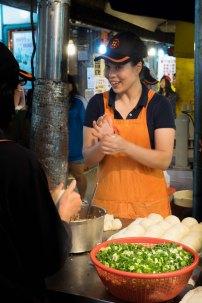 Pepper Pork Buns at Raohe Street night market
